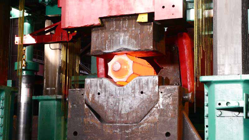 ковочный комплекс на заводе «Красном Октябре»
